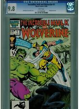 INCREDIBLE HULK & WOLVERINE #1 CGC 9.8 MINT WHITE PAGES 1986 REPRINT HULK 181