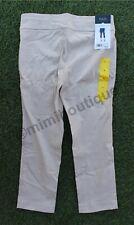 Rafaella Womens Capri Dress Pants Pull On Bottom Comfort Khaki Tan Stone $58 NEW
