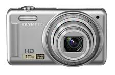 Olympus V Series VR-310 14.0MP Digital Camera Silver HD 10x Super Wide