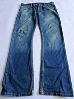 """LEVIS 507 Mens Jeans Slim Bootcut Blue Denim SIZE W30 L32 Waist 30"""" Leg 32"""""""