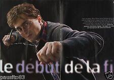 Coupure de presse Clipping 2010 Harry Potter & les reliques de la Mort (8 pages)