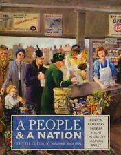 A People and a Nation, Volume II: Since 1865 by Carol Sheriff, David W. Blight,…