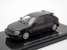 EBBRO 44836 1:43 Honda Civic Type-R EK9 early version Black