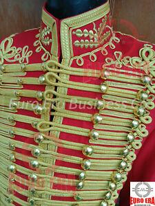 Napoleonic Dolman General Captain Wedding Dress Hussars Military Tunic Jacket