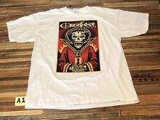 New listing Vintage Mens Xl Ozzfest Ozzy White T-shirt Rare 2006 00s Palm Beach Metal A1