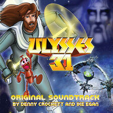 ULYSSE 31 (ULYSSES 31) MUSIQUE DE SERIE TV - DENNY CROCKETT - IKE EGAN (CD)