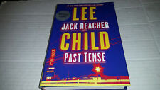 Jack Reacher: Past Tense by Lee Child (2018, Hardcover) SIGNED 1st/1st