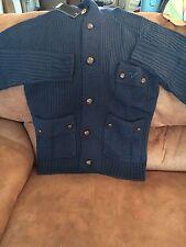 Voi Jeans XPG Belton Chunky Knit Cardigan - Navy - S