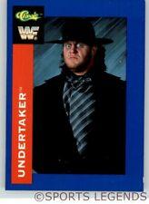 1991 Classic WWF WWE #64 Undertaker rookie 1st card