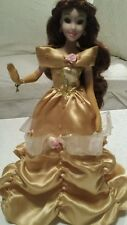 Disney Princess Enchanted Tales Belle porcelain doll collection limited edition