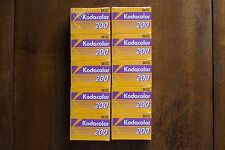 10 Rolls Kodacolor 200 35mm films 24 exposure - Expired New Old Stock - Lomo