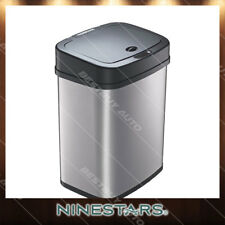 Automatic Touchless Infrared Motion Sensor Stainless Steel Trash Can