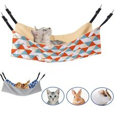 Pet Cat Guinea Pig Hammock Cotton Ferret Mouse Hang Bed Rodent Cartoon Products
