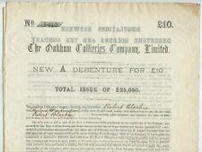 More details for  oakham collieries company debenture 1878 mining