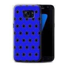 Étuis, housses et coques bleus Samsung Galaxy S7 edge en silicone, caoutchouc, gel pour téléphone mobile et assistant personnel (PDA)