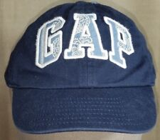 BABY GAP Toddler S/M Cap Blue Knit Back Baseball Style Hat