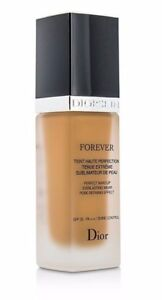 DIOR Forever Flawless Perfection Fusion Wear Makeup Foundation 050 SPF25  NWOB