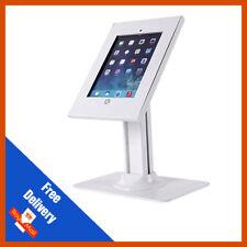 Anti-Theft piano di lavoro supporto per iPad 1 2 3 4 Air 2 90 Gradi Rotazione Bianco
