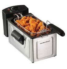 Hamilton Beach - 8-Cup Deep Fryer - Stainless-Steel 35200 Sealed Brand New