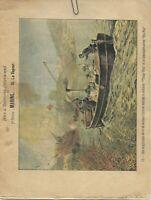 Cahier de travail d'école 1900