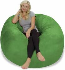 4ft Bean Bag Chair Cover Only, Large Washable Furniture Bean Bag cover