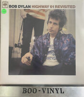 BON DYLAN-HIGHWAY 61 REVISITED -RED VINYL RECORD NR MINT CON UNPLAYED STUNNING