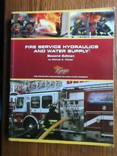 Fire Service Hydraulics and Water Supply by Michael Wieder/soft cover 2nd. ed.