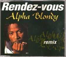 Alpha Blondy - Rendez-vous (Remix) - CDM - 1992 - Reggae Pop 3TR