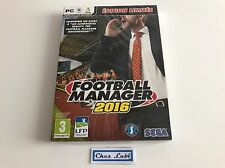 Football Manager 2016 - Édition Limitée - PC Mac Linux - FR - Neuf Sous Blister
