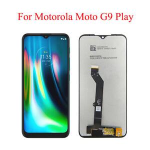 For Motorola Moto 2020 G9 Play XT2083 LCD Display Touch Screen Digitizer Black
