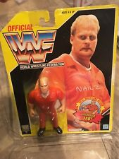 WWF Hasbro Nailz 1993 Yellow Card