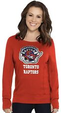 Touch by Alyssa Milano NBA Womens Lateral Sweatshirt Open Back Toronto Raptors S
