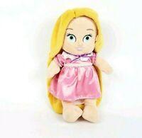 "Disney Babies Tangled Rapunzel Plush Toddler Baby Stuffed Toy Doll 10"" Princess"