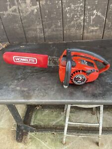 """Homelite SUPER 2 Automatic Oiling Chainsaw 16"""" Bar """"Runs Great"""""""