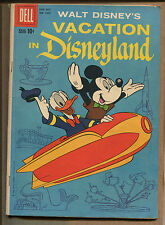 Four-Color Vacation in Disneyland #1025 - Barks Cover! - 1959 (Grade 5.5)