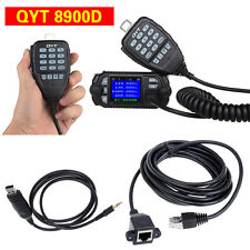 3-in1 QYT KT-8900D Car Truck Mobile Radio+USB Programme Cable+3M Extension Cable