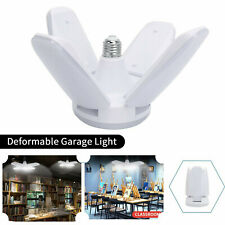 E27 Garage Led Light Deformable Bulb Ceiling Fixture Lights Bookstore Classroom
