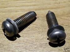 Bolts, rear deck chrome mount plate, Mazda MX-5 Eunos, bolt set MX5 screws, used