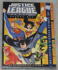 Justice League Unlimited Season One 1 (Batman & Superman) DVD Box Set NEW SEALED
