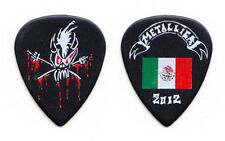 Metallica James Hetfield Black Scary Guy Mexico Guitar Pick - 2012 Tour