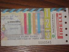 INTER FIORENTINA BIGLIETTO TICKET 1997/98 SERIE A