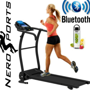 Nero Pro Slope Adjustable Electric Bluetooth Folding Machine Running Treadmill