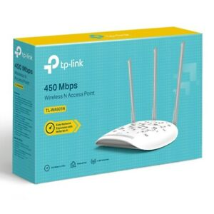 TP-LINK (TL-WA901N) 450Mbps Wireless N Access Point Fixed Antennas Multi-mode -
