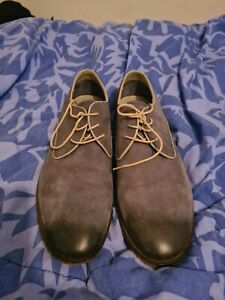 johnston and murphy gray shoes 10M