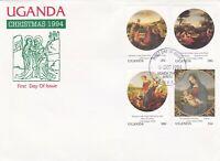 UG2) UGANDA 1994 - CHRISTMAS FDC