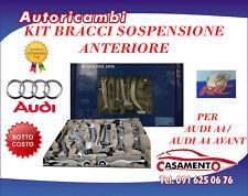KIT BRACCI SOSPENSIONE ANT. RC COMPLETO PER AUDI A4/ A4 AVANT DAL 2001 AL 2004
