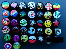 Logo Ear Plugs, Logo Earrings, Fake/Cheater Ear Plugs, Choice Of Designs