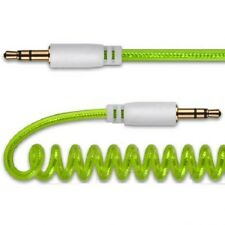 Cavo Audio a Spirale Jack 3,5mm - Jack 3,5mm Spinotto hsb