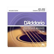 Pièces et accessoires D'Addario pour guitare et basse