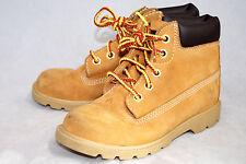 TIMBERLAND 10860 Boys Toddler Kids 12 Wheat Nubuck Leather Field Boot